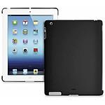 PURO  Coque BACK COVER New iPad/iPad2 Noir