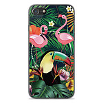 1001 Coques Coque silicone gel Apple iPhone SE 2020 motif Tropical Toucan