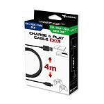 Subsonic Cable de recharge XXL pour manette PS4 et Xbox One
