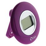 Thermomètre d'intérieur violet - Otio