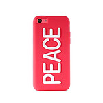 PURO  Coque NIGHT GLOW iPhone 5C  Peace Rose