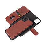 DECODED Folio detachable cuir recyclé iPhone11ProMax Marron