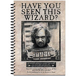 Harry Potter - Cahier à spirale A5 Wanted Sirius Black