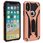 Avizar Coque Rose Champagne Hybride pour Apple iPhone X , Apple iPhone XS