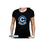Dragon Ball - Tshirt femme Capsule Corp - Taille L