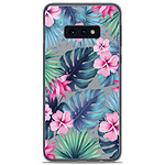 1001 Coques Coque silicone gel Samsung Galaxy S10e motif Tropical Aquarelle