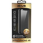 Isium Verre Trempe 2.5D En Pack 2 Iphone Xr