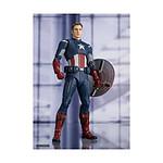 Avengers : Endgame - Figurine S.H. Figuarts Captain America Cap VS. Cap Edition 15 cm