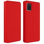 Avizar Etui folio Rouge pour Samsung Galaxy Note 10 Lite