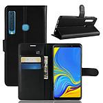 Lapinette Etui Housse Portefeuille Pour Samsung Galaxy A9 2018 Noir