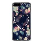 1001 Coques Coque silicone gel Apple IPhone 8 Plus motif Coeur Love
