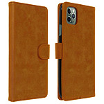 Avizar Etui folio Marron pour Apple iPhone 11 Pro