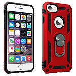 Coque iPhone SE 2020 / 8 / 7 / 6 / 6S Bi matière rouge