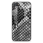 1001 Coques Coque silicone gel Apple iPhone SE 2020 motif Texture Python