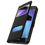 Avizar Etui folio Noir pour Huawei Y6 2017
