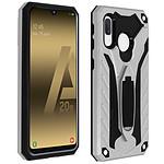 Avizar Coque Argent Hybride pour Samsung Galaxy A20e