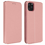 Avizar Etui folio Rose Champagne Portefeuille pour Apple iPhone 11 Pro