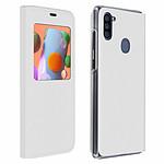 Avizar Etui folio Blanc pour Samsung Galaxy A11