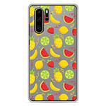 1001 Coques Coque silicone gel Huawei P30 Pro motif Fruits tropicaux