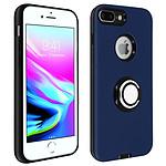 Avizar Coque Bleu Nuit pour Apple iPhone 7 Plus , Apple iPhone 8 Plus