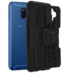 Avizar Coque Noir Antichoc pour Samsung Galaxy A6