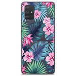 1001 Coques Coque silicone gel Samsung Galaxy A71 motif Tropical Aquarelle