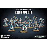 Warhammer 40k . - Thousand  Sons Rubric Marines