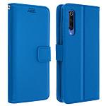 Avizar Etui folio Bleu pour Xiaomi Mi 9