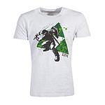 The Legend of Zelda - T-Shirt Splatter Triforce - Taille L
