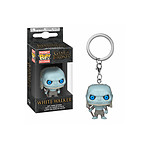 Game of Thrones - Porte-clés Pocket POP! White Walker 4 cm
