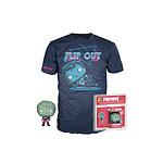 Fortnite - Set figurine et T-Shirt Pocket POP! & Tee Love Ranger - Taille XL