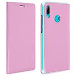 Avizar Etui folio Rose pour Huawei P Smart 2019 , Honor 10 Lite