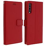 Avizar Etui folio Rouge pour Samsung Galaxy A70
