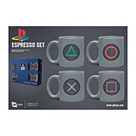 Sony PlayStation - Pack 4 tasses Espresso Buttons