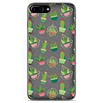1001 Coques Coque silicone gel Apple iPhone 8 Plus motif Cactus