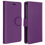 Avizar Etui folio Violet pour Tous les smartphones compris entre 5,31 et 5,8 pouces