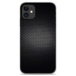 1001 Coques Coque silicone gel Apple iPhone 11 motif Dark Metal