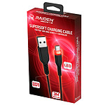 Raiden Câble de recharge et transfert USB C pour manette DualSense PS5