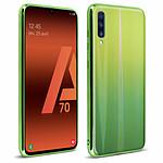 Avizar Coque Vert pour Samsung Galaxy A70