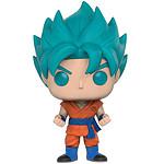 Dragon Ball Z Resurrection F - Figurine POP! Super Saiyan God Super Saiyan Goku (Blue) 9 cm