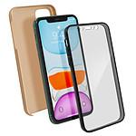Avizar Coque Dorée Intégrale pour Apple iPhone 11
