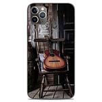 1001 Coques Coque silicone gel Apple iPhone 11 Pro Max motif Guitare