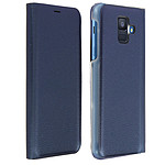Avizar Etui folio Bleu Nuit pour Samsung Galaxy A6