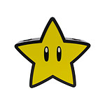 Nintendo - Lampe Super Star