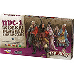 Jeu Zombicide - Black Plague Extension : Notorious Plagued Characters #1