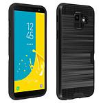Avizar Coque Noir Defender pour Samsung Galaxy J6