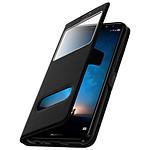 Avizar Etui folio Noir pour Huawei Mate 10 Lite