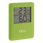 Thermomètre / Hygromètre intérieur magnétique - Vert - Otio