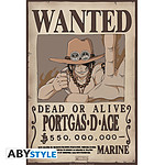 One Piece -  Poster Wanted Ace (52 X 35 Cm)