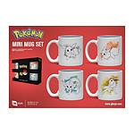Pokémon - Pack 4 tasses Espresso Eevee Evolutions
